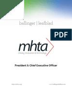 Executive Position Profile-MN High Tech Association-President-CEO