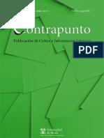 Revista Contrapunto de información y crítica literaria. Número 42