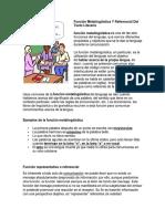 Función Metalingüística Y Referencial Del Texto Literario.docx