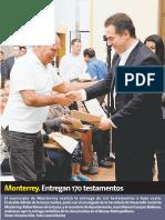 28-02-19 Monterrey. Entregan 170 testamentos