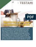 28-02-19 Monterrey va por más elementos policiacos