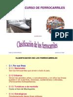 clasificacion ferrocarriles
