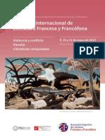 Segunda Circular Congreso Francesa 2019 Buenos Aires