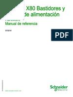 Modicon X80 Bastidores y Fuentes de alimentación.pdf