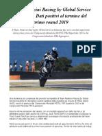 #GlobalServiceSolutions Team Pedercini Racing Prima Prova in Australia