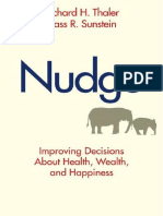 Richard H.thaler & Cass R. Sunstein (2008) - Nudge (Esp) - Un Pequeño Empujon