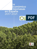 Balance Socioeconomico de La Biomasa en España 2017-2021