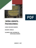 Mina Amapa Monografia