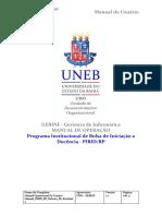 Manual PIBID RP Bolsista ID Residente