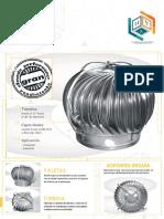 Ficha Tecnica - Extractor Eólico Industrial