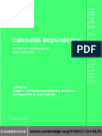 G. Alan Marlatt (Foreword), Roger Roffman, Robert S. Stephens (Editors) - Cannabis Dependence_ Its Nature, Consequences and Treatment (2006).pdf