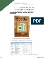Búsqueda Avanzada de Archivos y Documentos – Trucos y Cursos de Excel