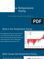 sea temperatures rising