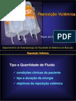 Reposicao Volemica_Farmacocinetica Dos Liquidos