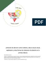 Protocolo de Atencion Contra Maltrato y Abuso Sexual