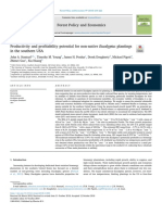 Productivy and Profitability Potencial for Non-native Eucalyptus Plantings in the Southern USA