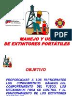 PRESENTACIÓN Teoría Del Fuego y Extintores Portátiles