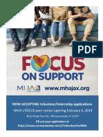 Focus Volunteer Flyer
