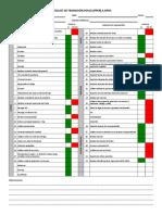 Checklist Validacin de Transicin Oxxo Lucio Blanco