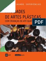 Artes plásticas para crianças de até 4 anos