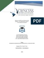 Elementos Geopolíticos Dentro de La Constitución