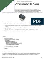1-8a Análisis Del Amplificador de Audio LM386