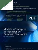 Cap. 2 - Modelo y Conceptos de Negocios Del CE (1)