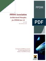 PPDM Lite Architectural Principles
