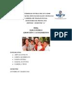 Monitoreo Protección, Acogimiento y Adopción
