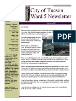Vice Mayor Fimbres' Ward 5 Newsletter for February 2019