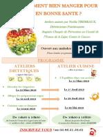 Affiche Atelier Nutrition Santé