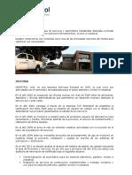 2016-04 Curriculum Serpetrol Bolivia Espanol