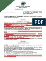 Código de Obras do Município de Santarém