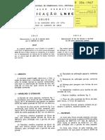 LNEC E 204 - 1967 Solos_ Determinação da Baridade Seca In Situ pelo Método da Garrafa de Areia.pdf