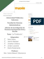 Investigacion Prostitucion