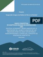 Guía Para La Aplicación en Campo de La Metodología Del Plan de Desarrollo y Acciones de Adaptación en El Territorio Local