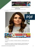13-02-19 - El Diario de Sonora - Más de 42 mil estudiantes recibieron becas y estímulos