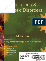 Mutations Genetic Disorders