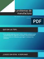 Solución de Problemas de Manufactura (Tops)