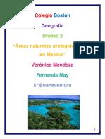 Áreas naturales protegidas en México (ANP)