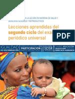 UNFPA PUB 2019 ES Lecciones Aprendidas Del Segundo Ciclo Del Examen Periodico Universal