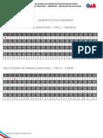 339272 Gabaritos Prelimiares Xxvii Exame de Ordem