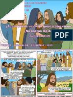 HOJITA EVANGELIO NIÑOS DOMINGO VIII TO C 19 SERIE
