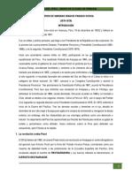 5. Gobierno de Mariano Ignacio Prado