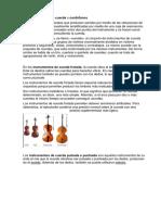 Instrumentos de Cuerda e Imagenes