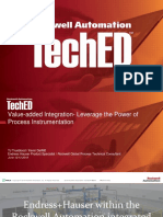 Rockwell Automation TechED 2018 - PR26 - Endress+Hauser