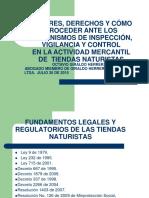 Capacitacion Juridica Tiendas Naturistas