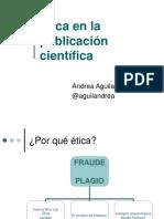 ETICA en la Publicacion Cientifica.ppt