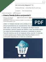 Crea Tu Tienda Online Con Joomla! 3