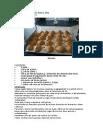 Receita biscoitos